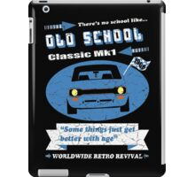 Old School Classic Mk1 Escort Retro Men's Car T-shirts iPad Case/Skin