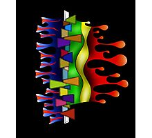 Abstract digital art - Grafenonci V2 Photographic Print