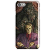 Werewolf gourmet - colored iPhone Case/Skin