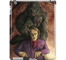Werewolf gourmet - colored iPad Case/Skin