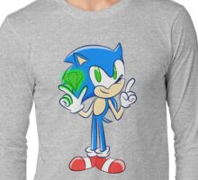 Sonic 25th: Sonic the Hedgehog  Long Sleeve T-Shirt