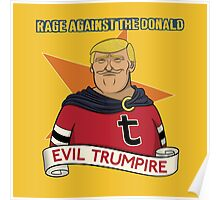 Rage Against The Donald Poster