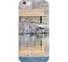 Bench Marked iPhone Case/Skin