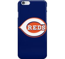 Cincinnati REDS Blue Skyline Chili iPhone Case/Skin