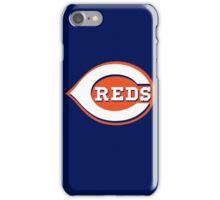 Cincinnati REDS Blue Skyline Chili iPhone Case/Skin
