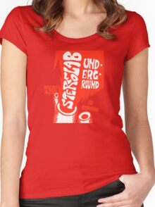 Stereolab- The Underground Is Coming Women's Fitted Scoop T-Shirt