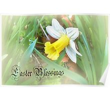 A Daffodil for Easter  Poster