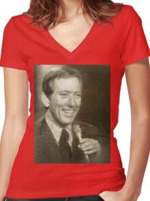 Andy Williams by MB Women's Fitted V-Neck T-Shirt