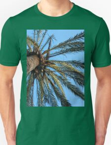 Under a Palm Tree Unisex T-Shirt