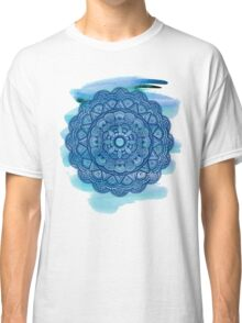 Mandala 001 - Watercolor Edit Classic T-Shirt