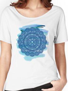 Mandala 001 - Watercolor Edit Women's Relaxed Fit T-Shirt