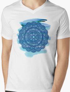 Mandala 001 - Watercolor Edit Mens V-Neck T-Shirt