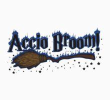 Accio Broom! Kids Tee