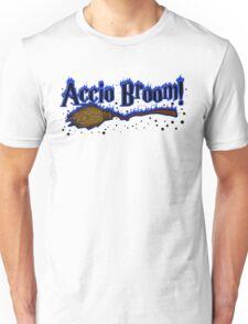 Accio Broom! Unisex T-Shirt