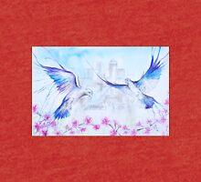 Pigeons Escape the City Tri-blend T-Shirt