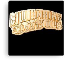 BBC BILLIONAIRE BOYS CLUB GOLD LOGO Canvas Print