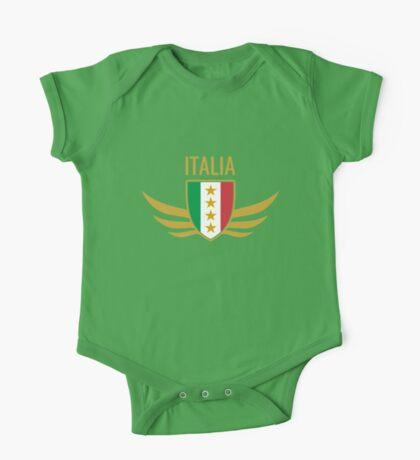 Italia Wing Crest  One Piece - Short Sleeve
