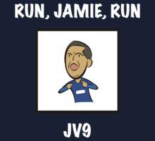 "Leicester City's Jamie Vardy: ""RUN, JAMIE, RUN"" One Piece - Short Sleeve"