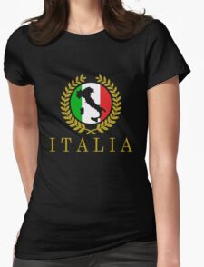 Italia Classico Womens Fitted T-Shirt