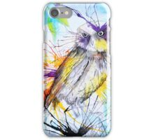 Owl in the Woods iPhone Case/Skin
