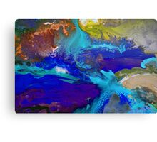 Psychedelic Seascape Canvas Print