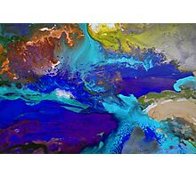Psychedelic Seascape Photographic Print