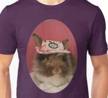 Bunny Rabbit in Pretty Pink Hat Unisex T-Shirt