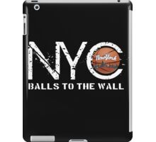 nyc basketball iPad Case/Skin