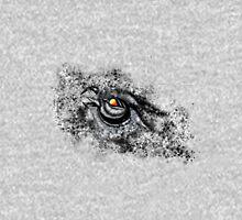 Owl in Black Snow Unisex T-Shirt