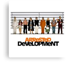arrested development lineup Canvas Print