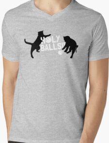 HOLY BALLS!! Mens V-Neck T-Shirt