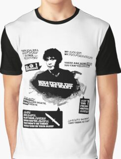 Bellamy Blake + Quotes Graphic T-Shirt