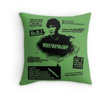 Bellamy Blake + Quotes Throw Pillow