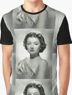 Myrna Loy by MB Graphic T-Shirt