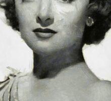 Myrna Loy by MB Sticker