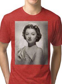 Myrna Loy by MB Tri-blend T-Shirt