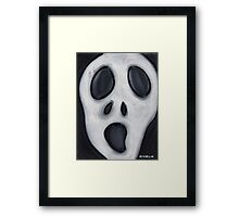 Pancake Face  Framed Print