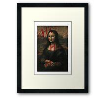 Joker & Joconde Framed Print