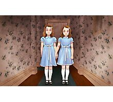 The Shining - The twins Tribute Photographic Print