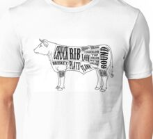 American Cuts of Beef Unisex T-Shirt
