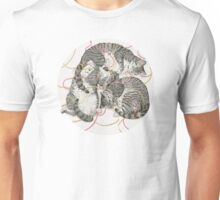 cats /rose and gold Unisex T-Shirt