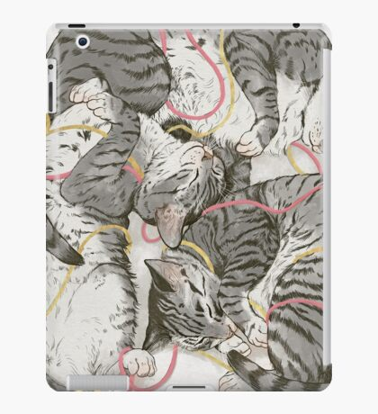 cats /rose and gold iPad Case/Skin