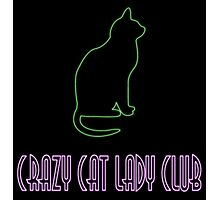 CrazyCatLadyClub Photographic Print