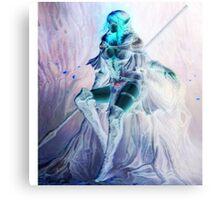 Whimsical Warrior Elf Woman Canvas Print
