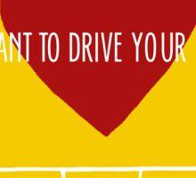 Trainers - Driver Sticker