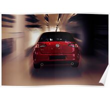 golf gti performance Poster