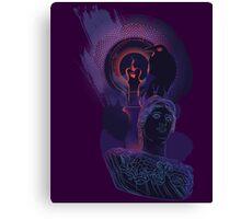 "Quote the Raven... ""Nevermore"" Canvas Print"