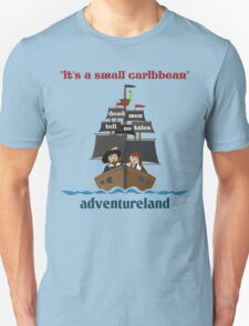 it's a small caribbean Unisex T-Shirt
