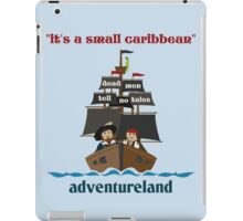 it's a small caribbean iPad Case/Skin