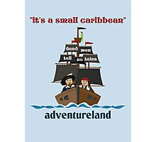 it's a small caribbean Photographic Print
